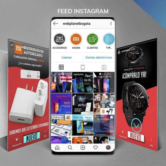 Redes sociales Facebook e Instagram, Resultados en sus ventas, Marketing Digital, Videos y Logotipos, publicidad