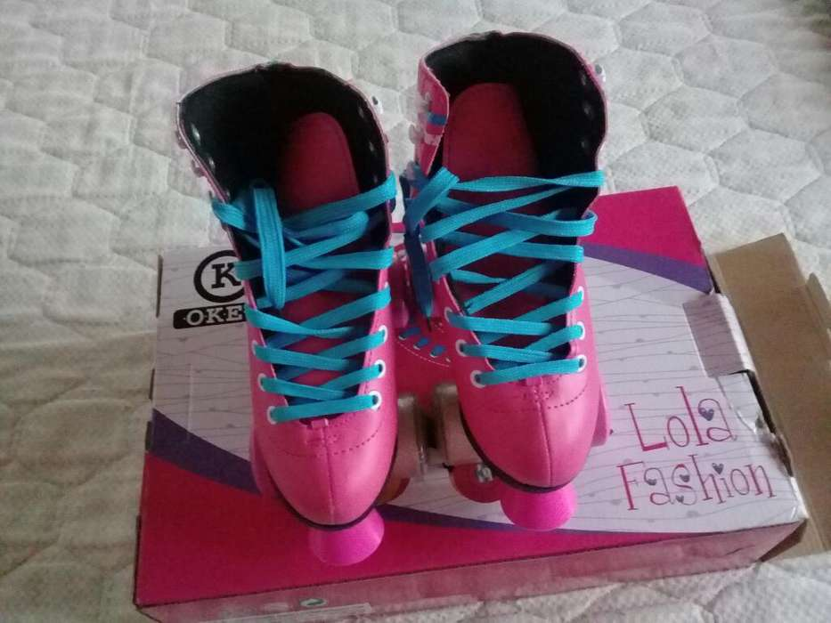 Patines de Nena Okey Lola Fashion