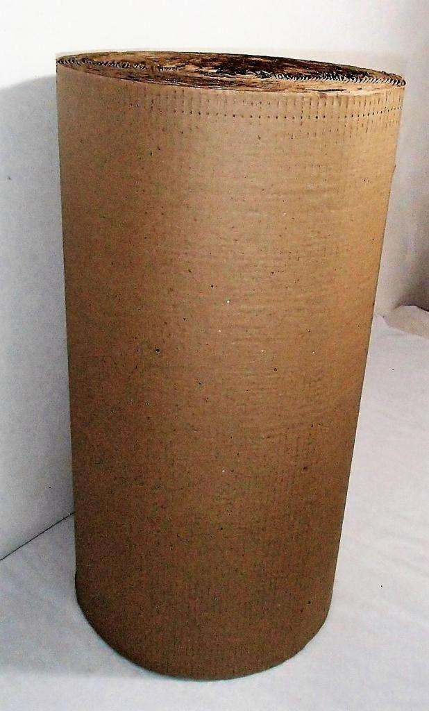rollo de carton corrugado