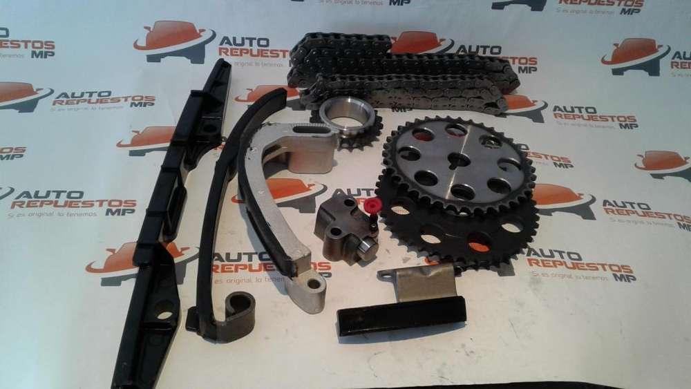 KIT DISTRIBUCION CADENA MAZDA B2600 Y BT50 2.6 AUTO<strong>repuestos</strong> MP GUAYAQUIL