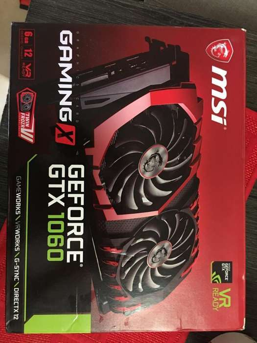 Msi Gaming X 1060 6gb