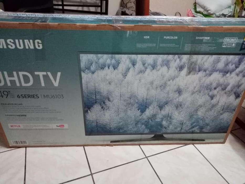 TV SAMSUNG 50 PULGADAS ULTRA HD 4K SMART