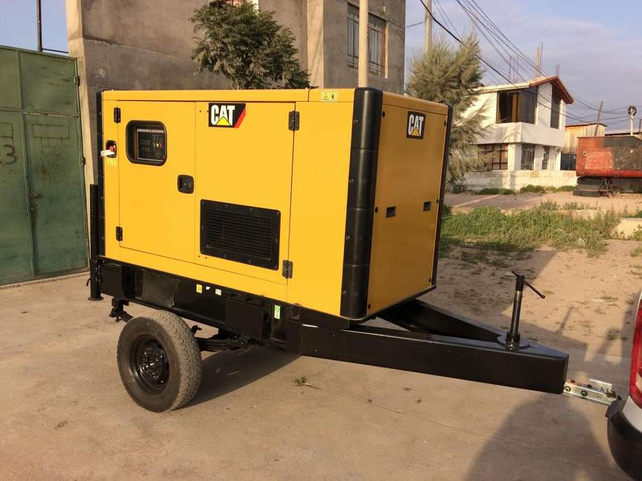 Generador Electrico Cat de 45 Kilowatts