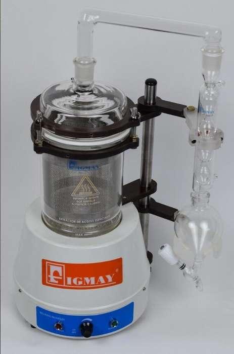 Extractor de Aceites Escenciales