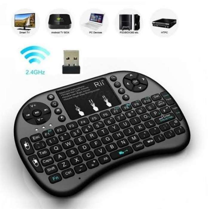 Mini Teclado para Smart Tv