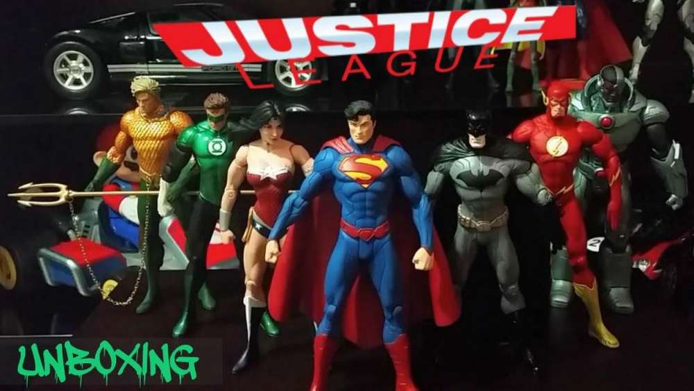 liga justicia coleccion completa