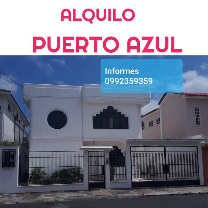 Alquilo Puerto Azul