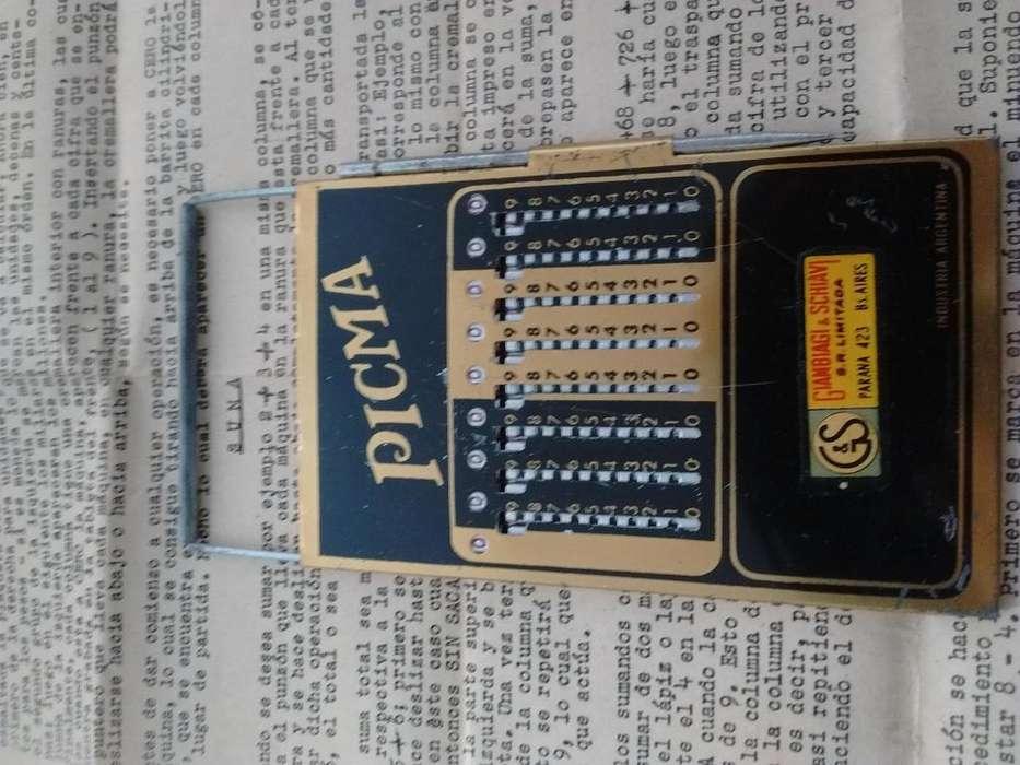 Antigua maquina de calcular PICMA