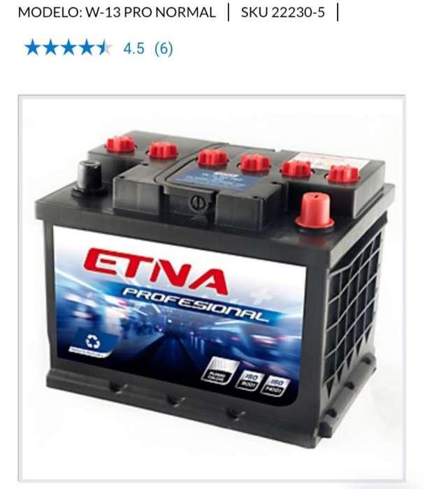 Batería Etna Profecional 13 Placas