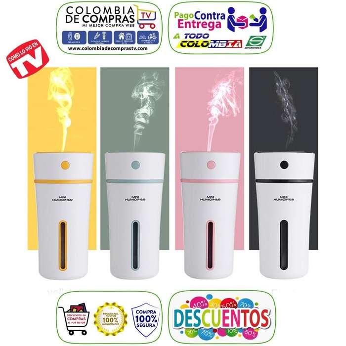 Difusor Aroma 300 Ml Humidificador Aromatizador Colors , Nuevos, Originales, Garantizados