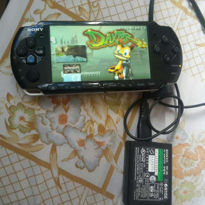 Psp Sony Flashada con Mas D 100 Games