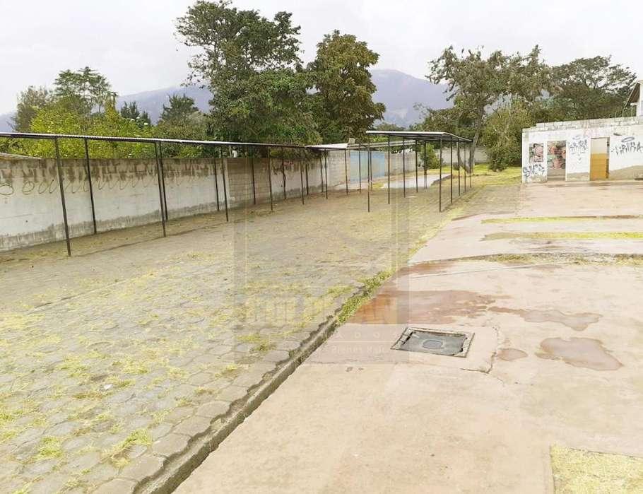 Tumbaco, terreno, 1400 m2, venta, cerramiento, alcantarillado