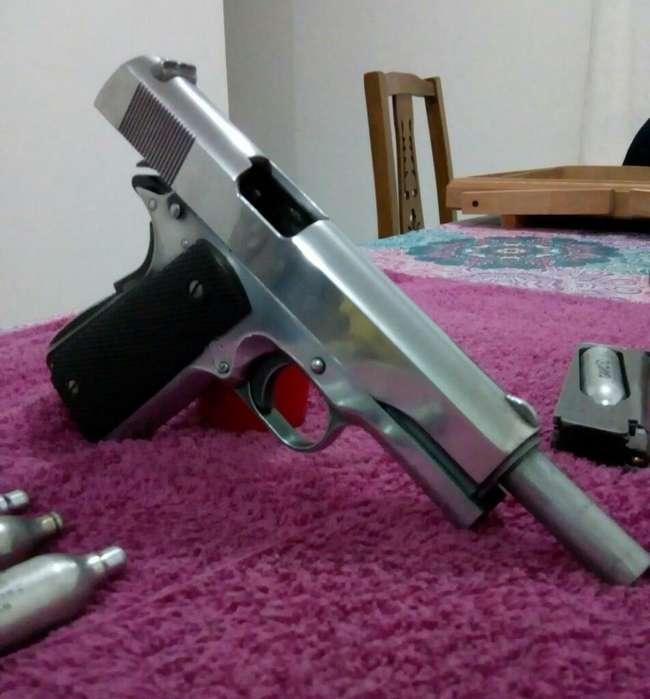 Pistola Co2 1911 Usa. Colt Full Metal
