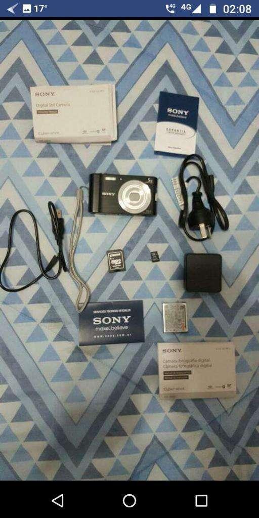 Vendo Cámara Sony