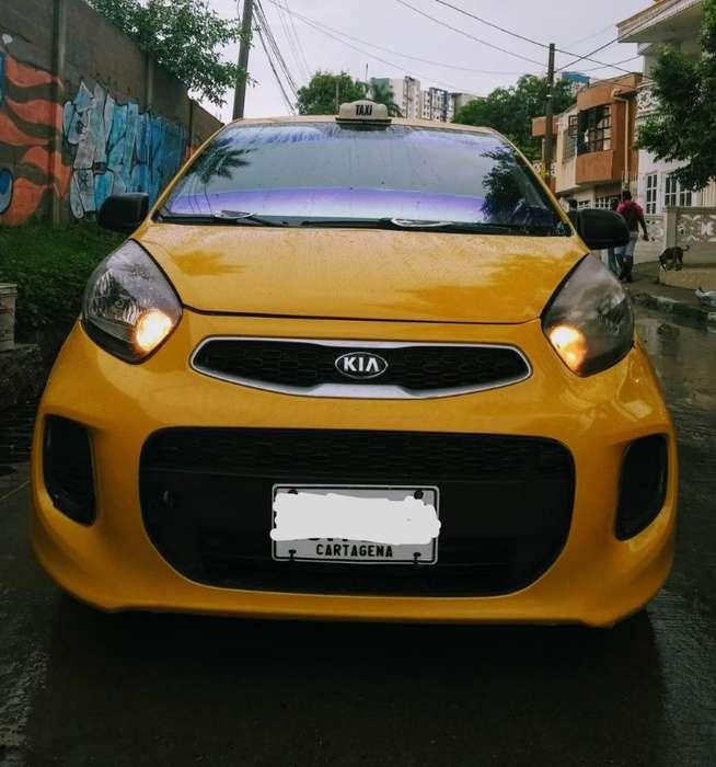 Taxi Kia Picanto Ión 2016 1.0cc Gasolina