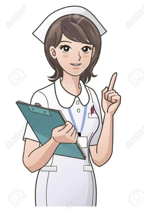 Enfermera a domicilio y cuidado al adulto mayor