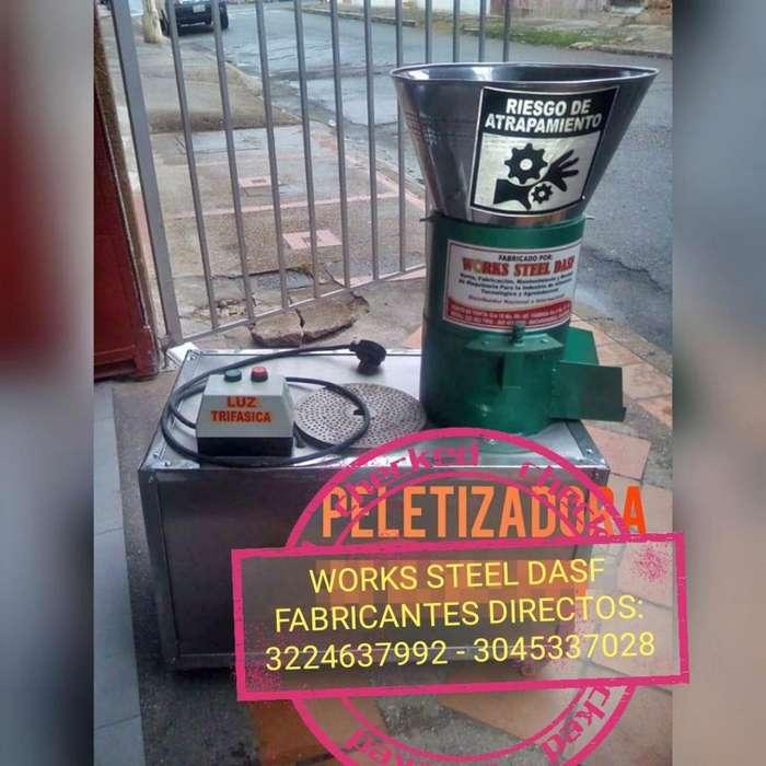 PELETIZADORA PARA FABRICAR COMIDAS DE PECES