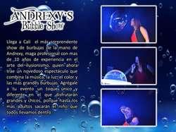 Mágico y Espectacular Show de Burbujas en Cali.