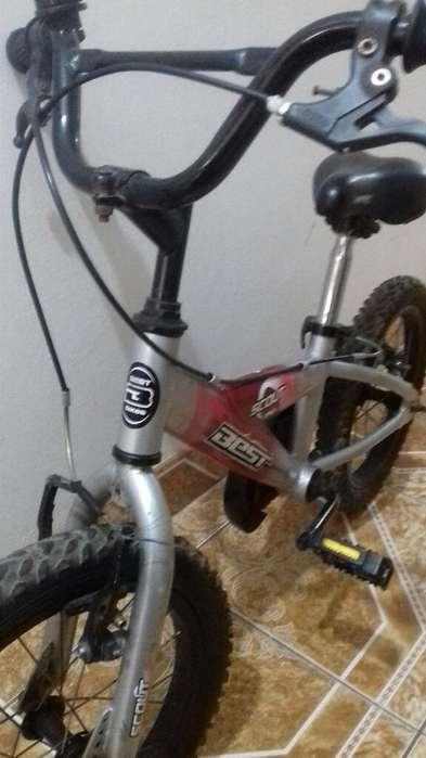 Bicicleta Best Original Aro 16 para Niño