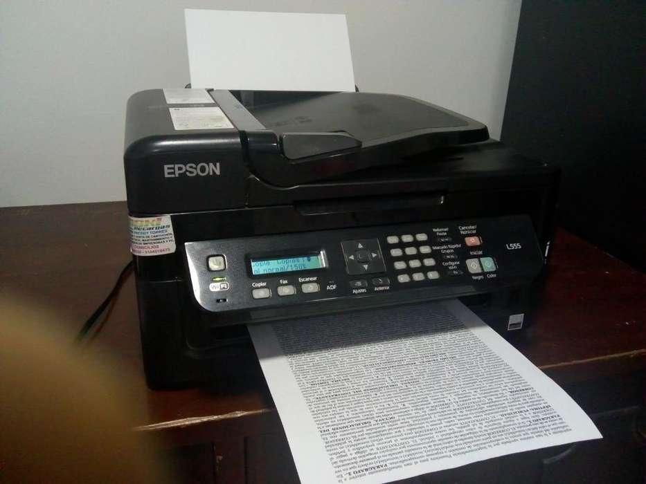 Vendo Impresora Epson L555 Sistema Conti