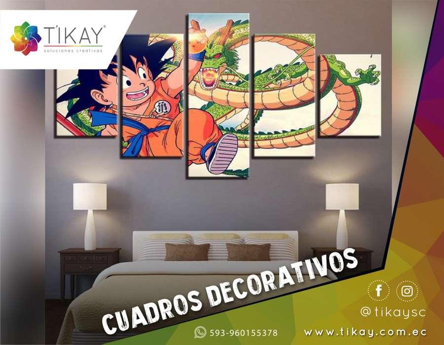 Diseño de Cuadros Decorativos Modernos, Logos Decorativos, Cuadros Trípticos para Cuarto, Sala y Oficina.