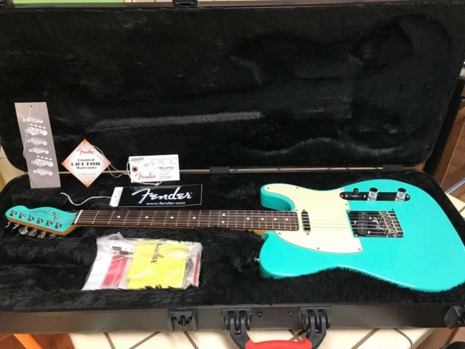 Fender American Select Telecaster Carved Maple