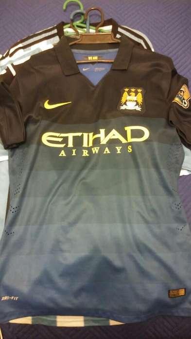 Camiseta Nike Man City Talla M Aguero