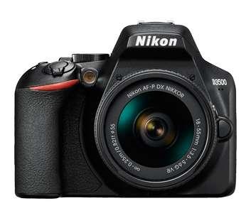 Nikon D3500 kit 1855 nuevas con garantia oficial