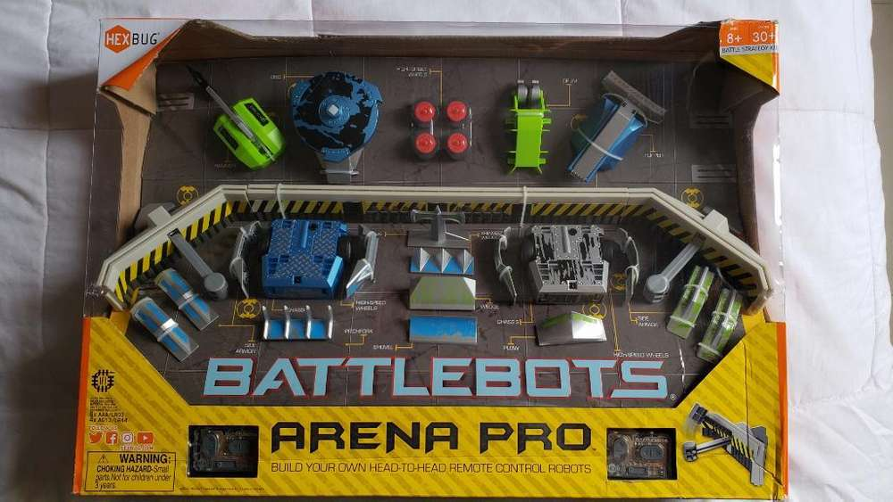 Hexbugs Battlebots Arena Pro