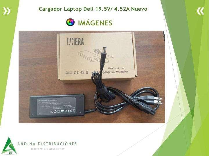 Cargador Laptop Dell 19.5V/ 4.52A Nuevo