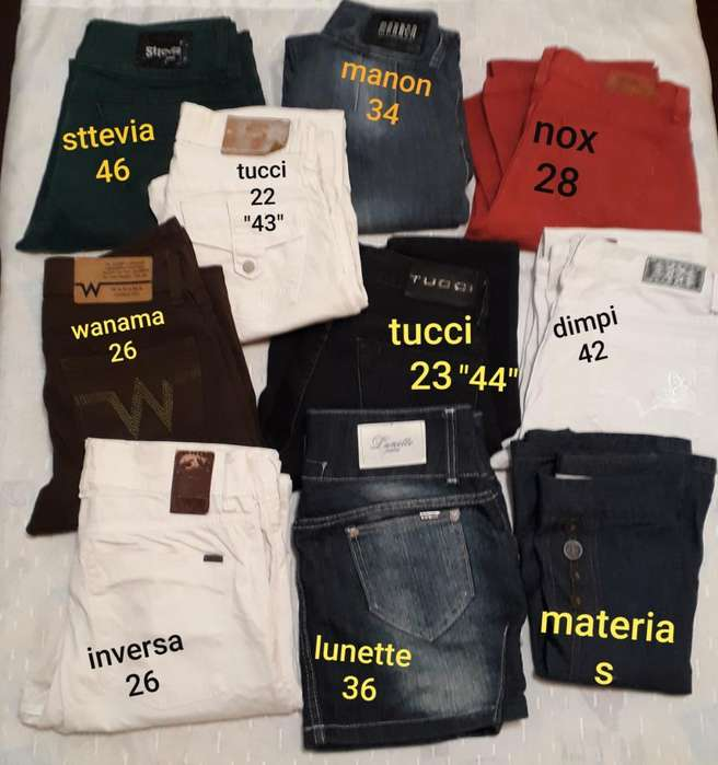 Jeans de <strong>mujer</strong> para Reventa Lote