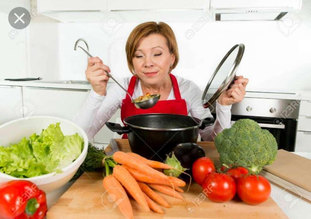 Persona con Experiencia Cocina