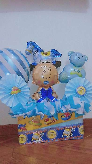 Anchetas/arreglos para Baby Showers