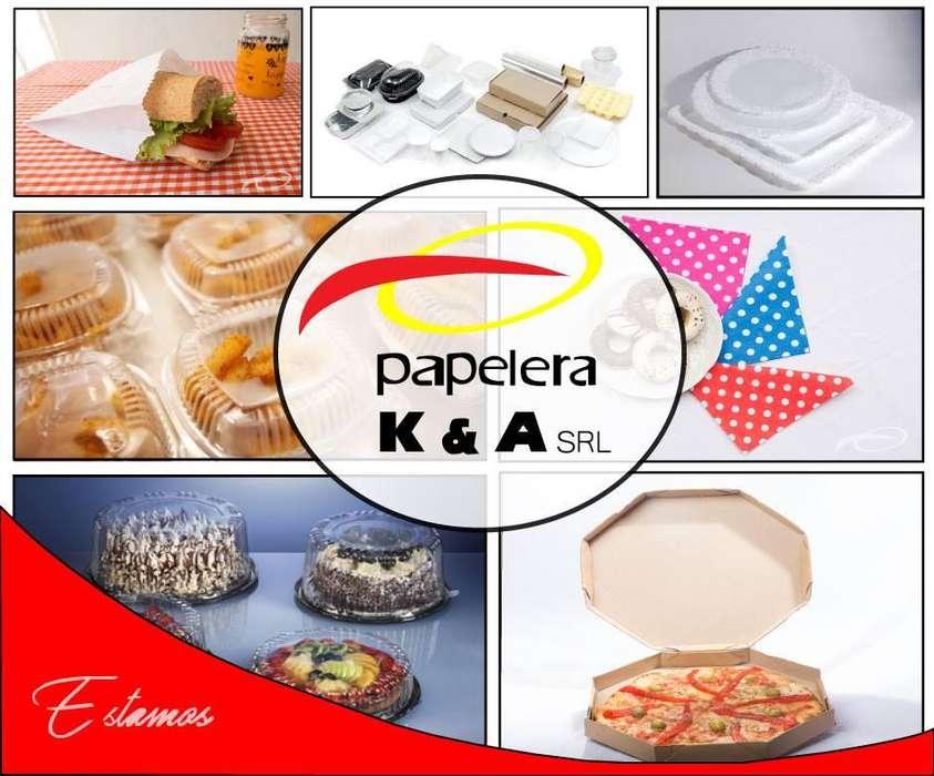 Papelera KyA - Descartables, servilletas, bolsas, cajas pizza, caja empanadas, higiene institucional