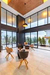 Oficinas de Venta en El mejor sector de Quito: La Carolina. Shyris y Portugal. Oficina 119,46 m2 con Balcón.