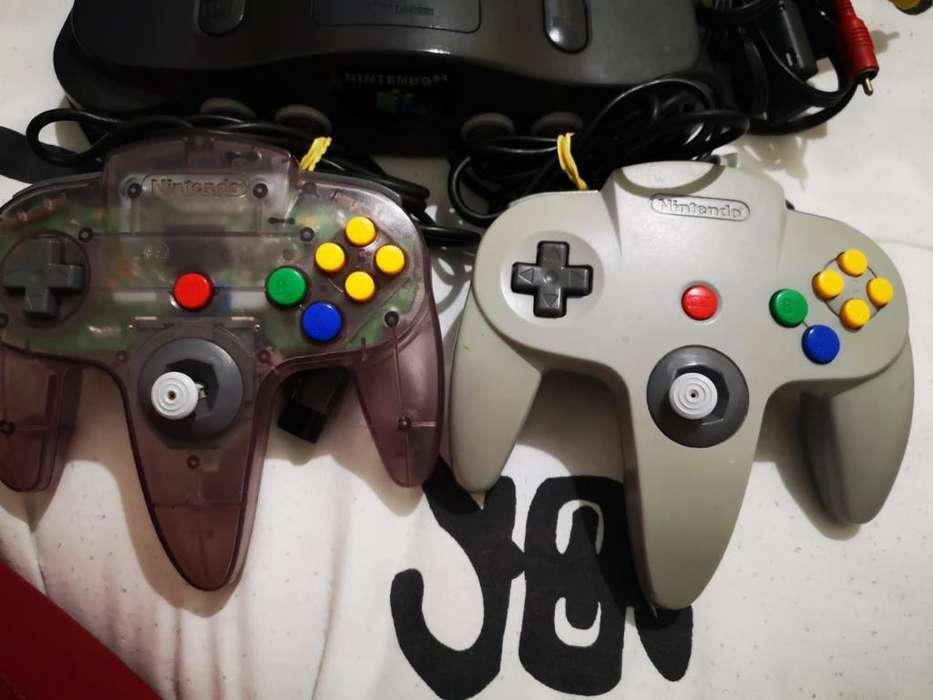 Se Vende Nintendo 64 Como Nuevo