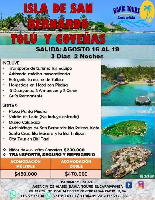 Tour Medellin O Tolu Agosto 12