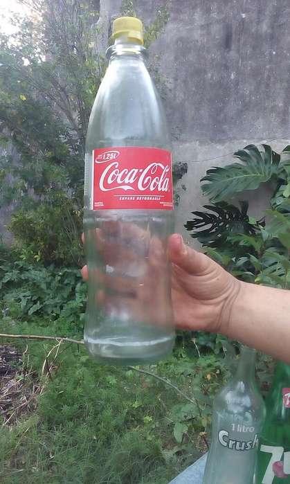 Vendo Botellas de Litro Antiguas