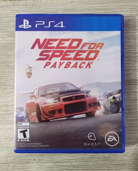 Need For Speed Payback Ps4 Ganga