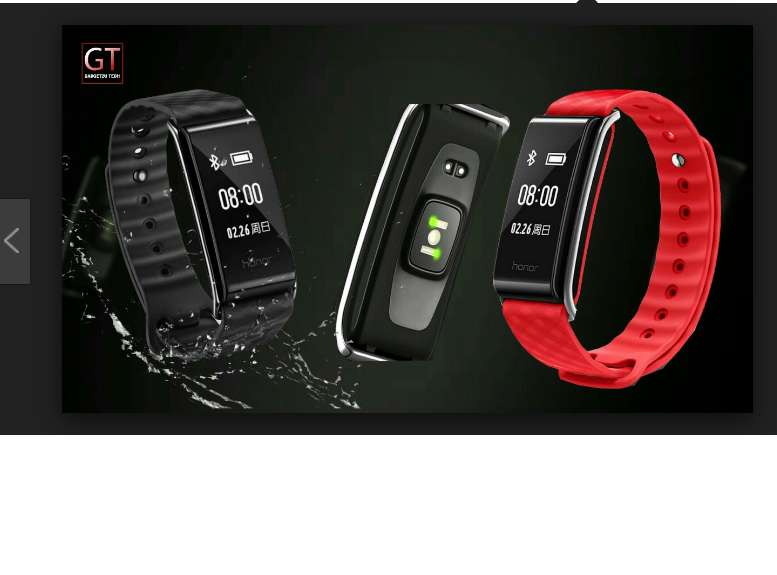 Huawei Honor A2 Smartband Manilla