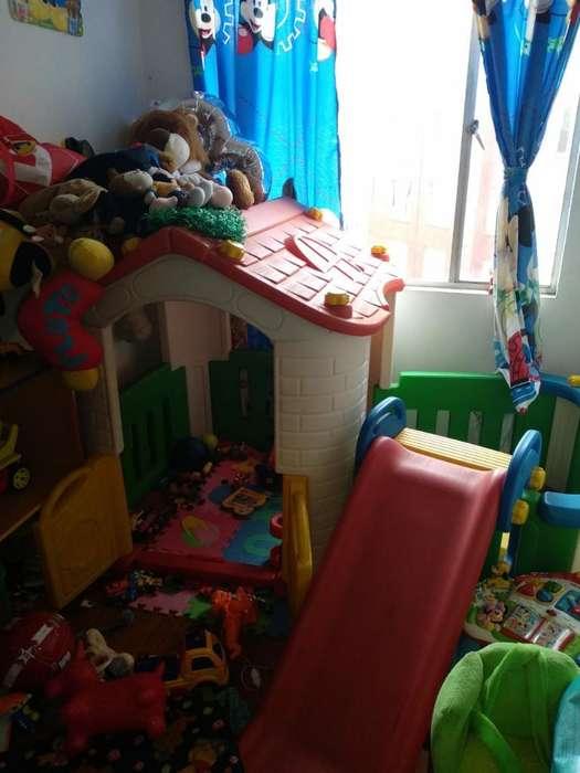 Casa Infantil con Rodadero