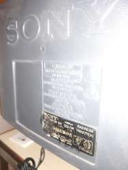 Televisor Sony Trinitron 21' con Control