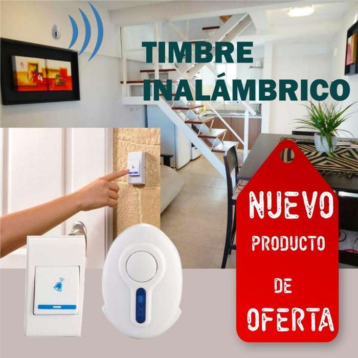 TIMBRE INALMBRICO / TIMBRE SIN CABLES / TIMBRE