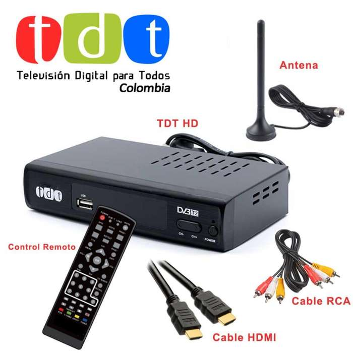 TDT DECODIFICADOR TELEVISION DIGITAL