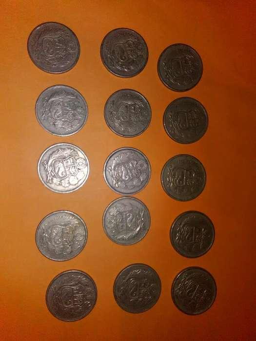 Monedas de Cien Soles de Oro de 1980