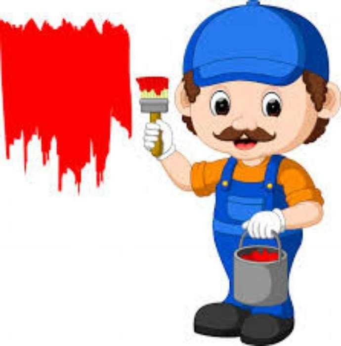 Buenas Hago Trabajos de Pintura en Gnral