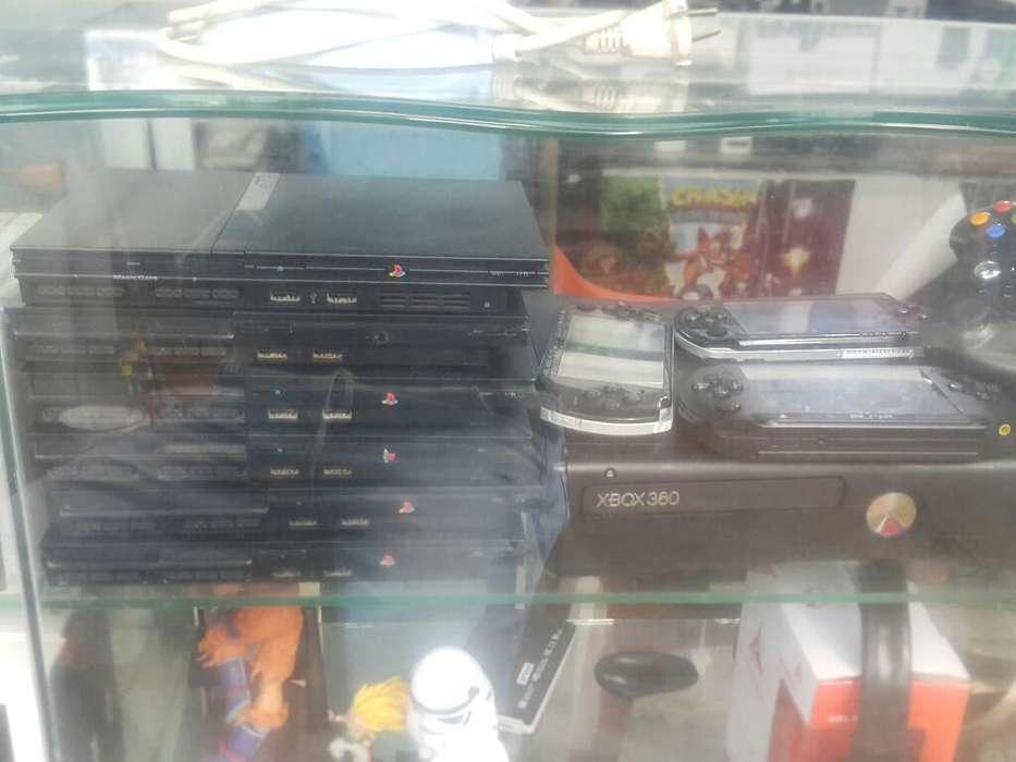 Consolas Psp Play 2 Xbox 360