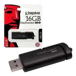 Pendrive Kingston Datatraveler 104 16gb Negro