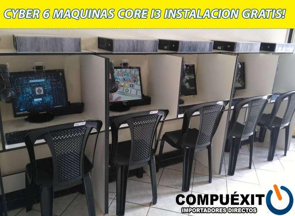 Cyber 6 máquinas Intel Core i3