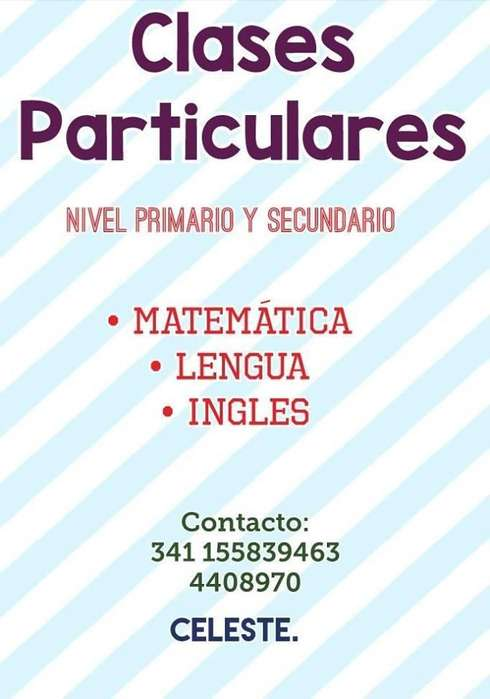 Clases Particulares. Matemática, lengua, ingles.